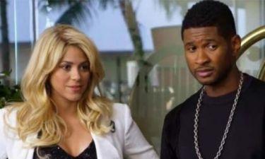 Shakira και Usher στο promo του The Voice