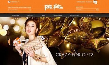 H  Folli Follie υποδέχεται τη νέα χρονιά με ενισχυμένη  και ανανεωμένη διαδικτυακή παρουσία!