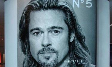 Brad Pitt: Δεν ικανοποιεί η διαφήμισή του για το Chanel No5