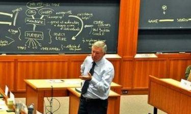 Ο Σερ Άλεξ Φέργκιουσον αποκάλυψε τα μυστικά του στο Χάρβαρντ