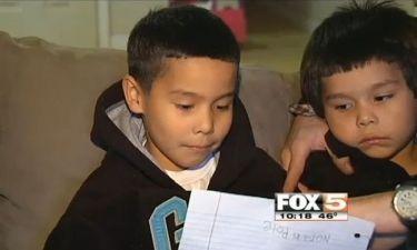 5χρονος ζήτησε από τον Άγιο Βασίλη τα εργαλεία που έκλεψαν από τον μπαμπά του!