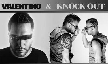 «Knock Out» χτυπήματα από τον Valentino και τον Zani και το remix με την Πάολα!