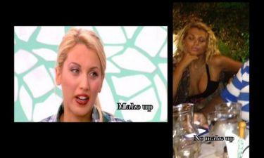 Φωτό: Κωνσταντίνα Σπυροπούλου: Δείτε την «γυμνή» της αλήθεια χωρίς make up!!! (Nassos blog)