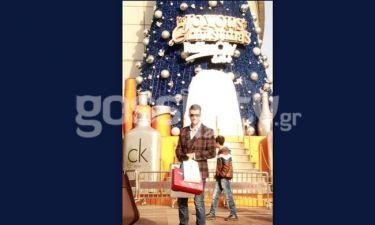Νεκτάριος Κυρκόπουλος: Βόλτα και ψώνια στη Shanghai λίγο πριν τα Χριστούγεννα!