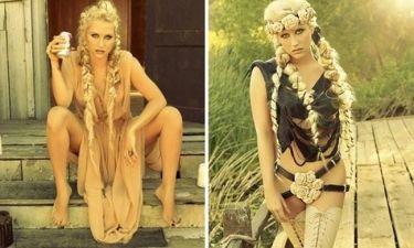Ke$ha: Σέξι αμαζόνα για το νέο της άλμπουμ