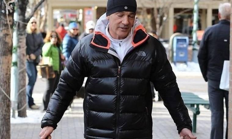 Antonio Banderas: Σήκωσε όλο το Άσπεν