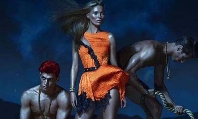 Ένας έλληνας στη νέα καμπάνια του οίκου Versace