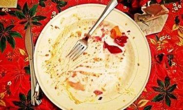 «Καθάρισε» το πιάτο της γνωστό μοντέλο!