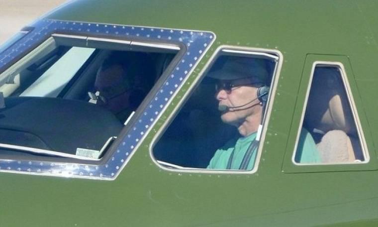 Ο Harrison Ford πήρε το αεροπλάνο του!