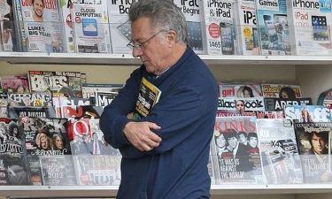 Πόσα περιοδικά αγόρασε ο Dustin Hoffman;