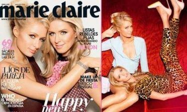 Οι αδερφές Hilton μας λένε Καλές Γιορτές από το Marie Claire Ισπανίας