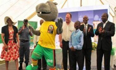 Κόπα Άφρικα 2013: Ιπποπόταμος με όνομα Τακούμα η μασκότ