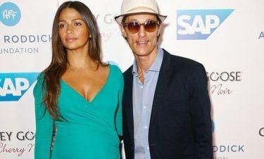 Matthew McConaughey – Camila Alves: Απέκτησαν και το τρίτο μωράκι τους!