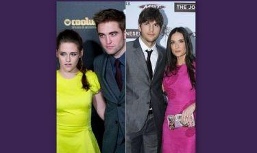 Demi Moore-Ashton Kutcher VS Kristen Stewart-Robert Pattinson: ποιο ήταν το μεγαλύτερο κέρατο του 2012;