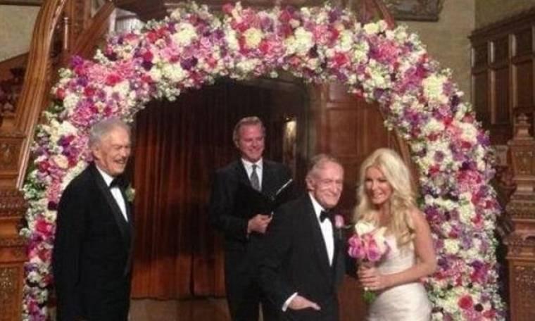 Ο Hugh Hefner παντρεύτηκε για τρίτη φορά