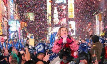 Βίντεο: Η Times Square μετά το πρωτοχρονιάτικο πάρτι