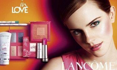 Emma Watson: Η νέα φωτογράφηση για τη Lancome