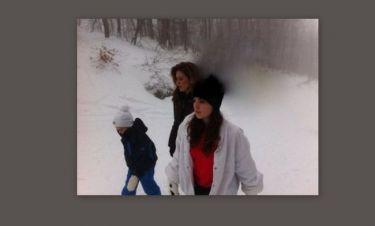 Φωτό: Γεωργιάδης-Μανωλίδου: Η χιονοθύελλα… ο πανικός για τα παιδιά και το θαύμα! (Nassos blog)