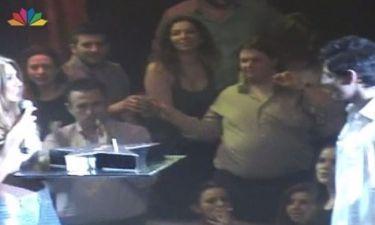 Σάκης Ρουβάς: Έσβησε τα κεράκια της τούρτας του στην πίστα