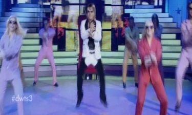 Η απολαυστική εμφάνιση του Τρύφωνα Σαμαρά στο Dancing – Ρεκόρ γέλιου στο πλατό!