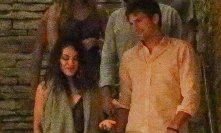 Mila Kunis – Ashton Kutcher: Ρομαντικό ραντεβού στο Ρίο ντε Τζανέιρο