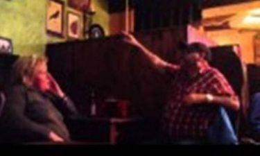 Άγριος καβγάς ζευγαριού για τον… Φαν Πέρσι! (video)