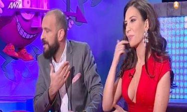 Γρηγόρης Μπάκας: Πρώτη τηλεοπτική εμφάνιση με την σύζυγό του