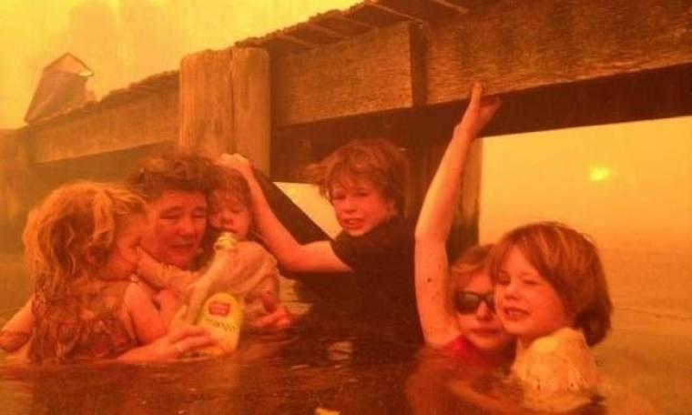 ΣΥΓΚΛΟΝΙΣΤΙΚΕΣ ΦΩΤΟ: Οικογένεια σώθηκε από θαύμα από τις φλόγες