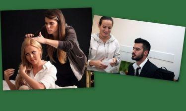 Η Δρακοπούλου και ο  Τσιμιτσέλης μιλούν αποκλειστικά στο gossip-tv για τις «Εκκρεμότητες» που τους ενώνουν