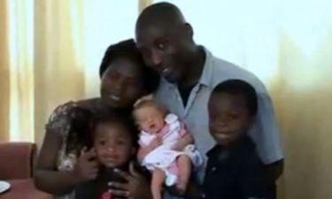 Σοκ: Γονείς από τη Νιγηρία απέκτησαν λευκό μωράκι!