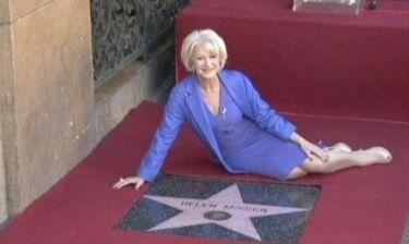 Το «αστέρι» της Helen Mirren!
