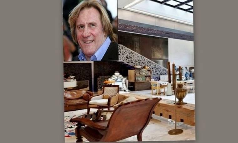 O Gérard Depardieu πουλάει το αρχοντικό του στο Παρίσι!