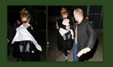 Adele: Η πρώτη φωτογραφία με τον γιο της