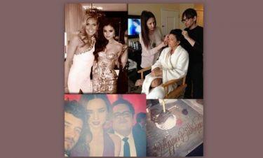 Χρυσές Σφαίρες 2013: Όλο το λαμπερό παρασκήνιο όπως το φωτογράφησαν οι ίδιοι οι star!