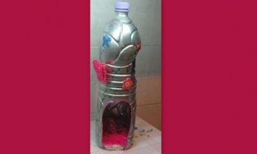 Νεραϊδοσπιτάκια από… μπουκάλια!