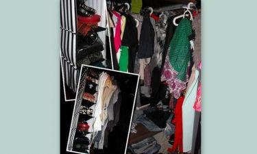 Το χάος κρυμμένο στην ντουλάπα μου