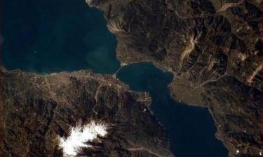 Αστροναύτης φωτογράφισε από  το διάστημα το Ρίο Αντίρριο και το ανέβασε στο twitter!