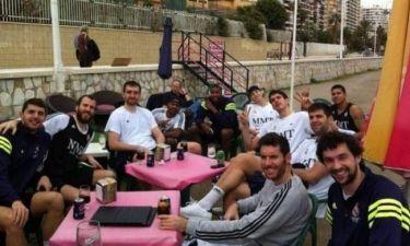 Ρεάλ Μαδρίτης: Χαλάρωμα στην παραλία της Μάλαγα! (photos)