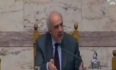 Το ανοιχτό μικρόφωνο και τα «γαλλικά» του Μεϊμαράκη στην Βουλή