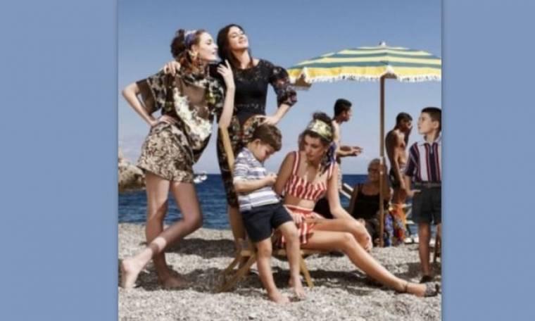 Δείτε την εντυπωσιακή ανοιξιάτικη καμπάνια της Dolce & Gabbana
