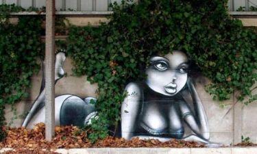 Γκράφιτι σωστά έργα τέχνης!