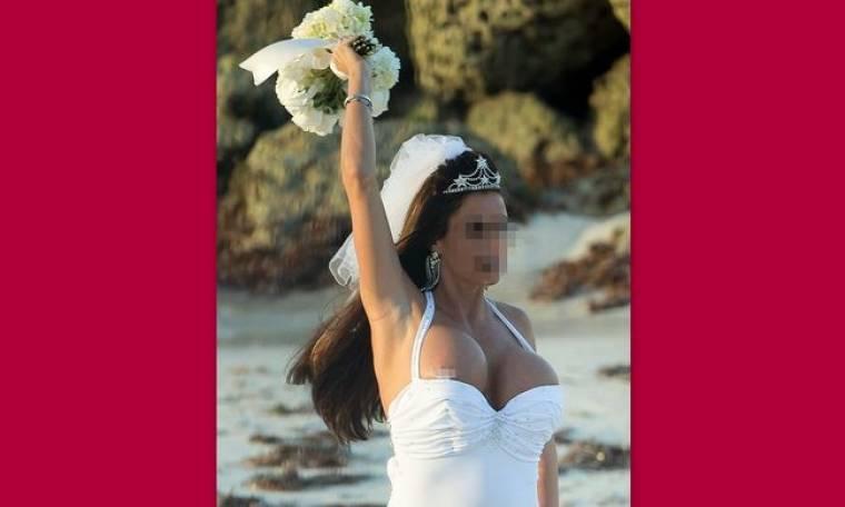 Το φωτογραφικό άλμπουμ και η άτυχη στιγμή στο γάμο της…