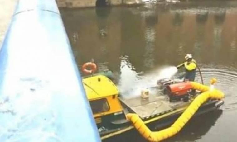 Βίντεο: Πέταξε χιονόμπαλα σε πυροσβέστες και δείτε τι του έκαναν
