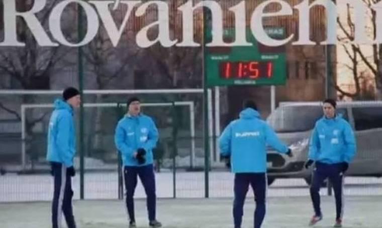 Φινλανδία: Ο πιο... κρύος ποδοσφαιρικός σύλλογος (video)