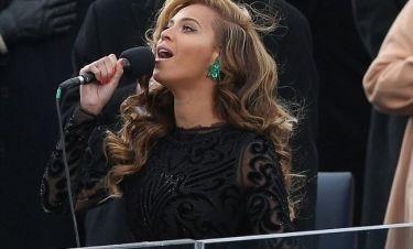 Playback ο εθνικός ύμνος που τραγούδησε η Beyonce στην τελετή ορκομωσίας του Ομπάμα!