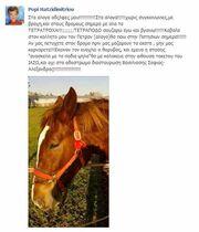 Παρουσιάστρια θα πάει με το άλογο στην Πατησίων