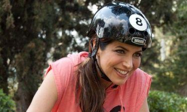 Η Γωγώ Μπρέμπου στις «Ποδηλατοδράσεις»