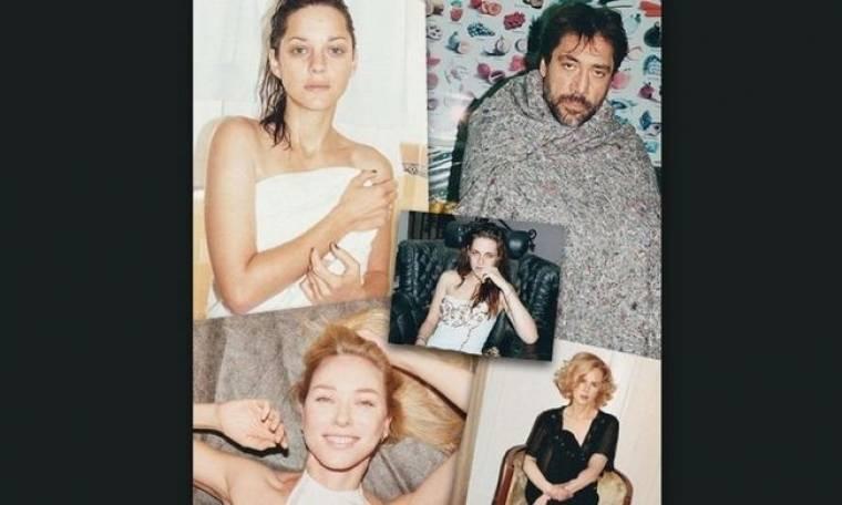 Δείτε τους μεγαλύτερους stars του Hollywood να φωτογραφίζονται τελείως άβαφτοι για το W magazine