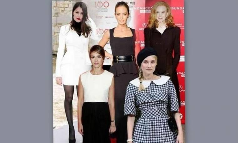 Τα ασπρόμαυρα looks που αγαπήσαμε: Ποιες ήταν οι πιο καλοντυμένες celebrities της εβδομάδας;