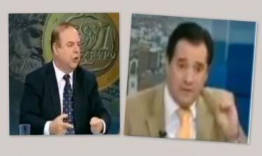 Χαϊκάλης σε Γεωργιάδη: «Είσαι ξεφτίλας! Ένας ξεφτιλισμένος είσαι! Είσαι καραγκιόζης!»